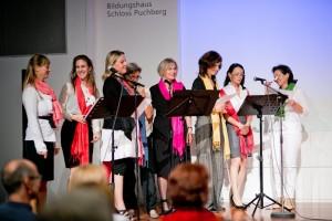 Chor mit Reiner P. Kais (2)